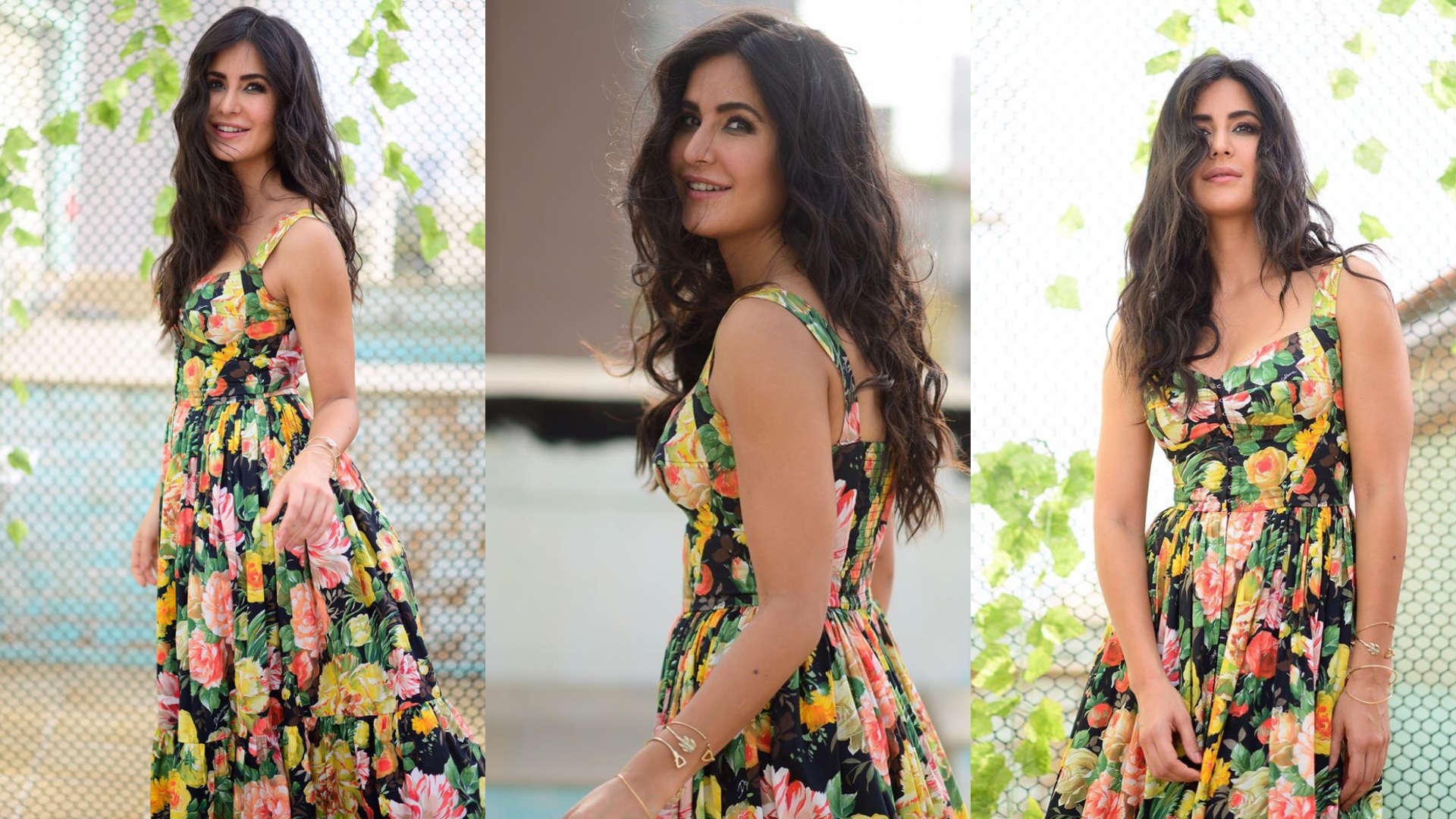 BHARAT Promotions: Katrina Kaif shows off her floral power in a Dolce and Gabbana gown