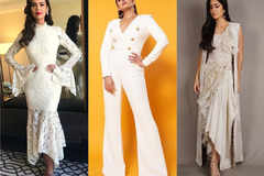 Here's how your favourite B-Town divas are styling white this season