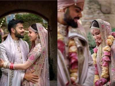 Anushka Virat Wedding Anniversary Couple Commemorate Their