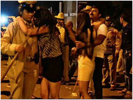 Chilling video from the Bengaluru mass molestation surfaces online
