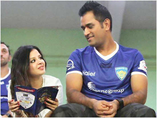 Sakshi has the sweetest message for husband MS Dhoni