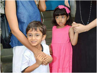 Aaradhya and Azad's annual day performance is adorable!