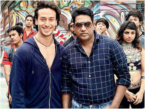 Tiger Shroff begins shooting the finale song for 'Munna Michael'