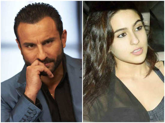 Saif Ali Khan not happy with daughter Sara's decision to enter Bollywood?