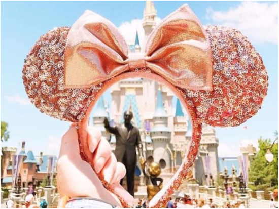 Disney launches rose gold Minnie Mouse ears!