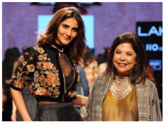 Vaani Kapoor launches Label Ritu Kumar's 'Maharaja Pop' Autumn-Winter'17 collection