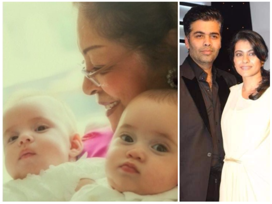 Karan Johar's little boy reminds Kajol of his father, Yash Johar