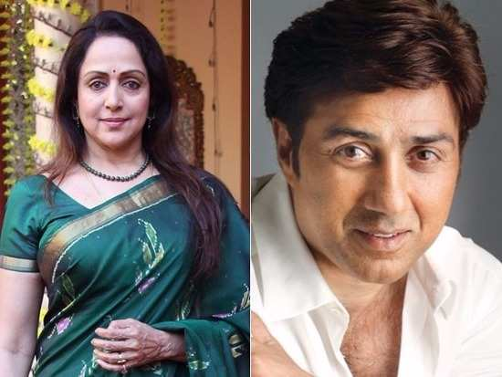 Relationship between sunny deol and hema malini