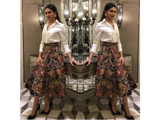 a267129ab8 Deepika Padukone  Deepika Padukone gives us a classic way to style ...