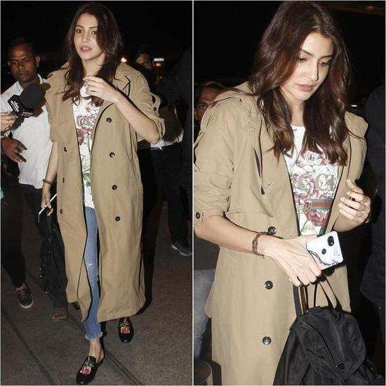 Here's proof that Anushka Sharma works trench coats in the most stylish way ever!