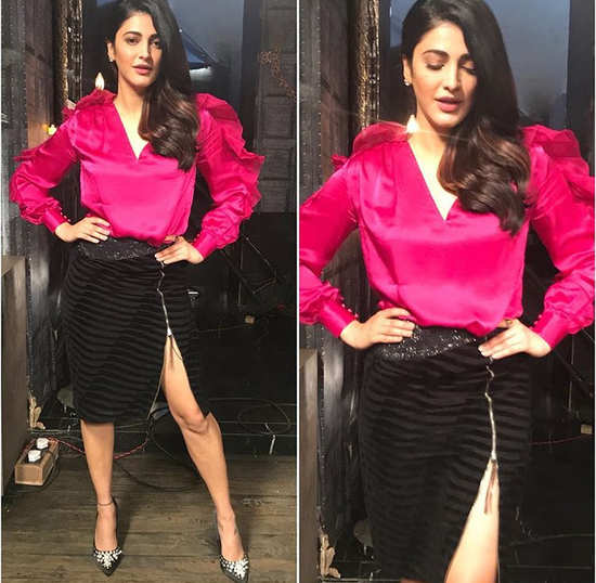 Shruti Haasan's glam look in this Namrata Joshipura outfit will leave you stunned