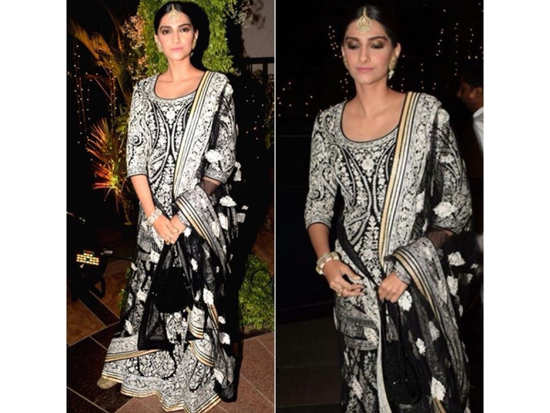 Sonam Kapoor Proves That Black Is The Chicest Choice For Ethnics