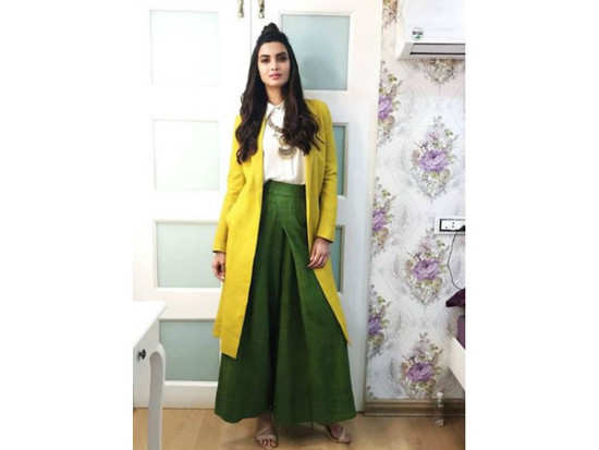 Actress Diana Penty who will be seen soon in  Parmanu  The Story of  Pokhran  was captured at an event recently in Mumbai to promote a tourism  brand. 2f5df2a21