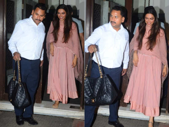 ffc0be7cc1a6 Deepika Padukone was recently spotted incorporating all-time summer  favourite, pastels, into her ethnic wardrobe as she was papped at the  celeb-approved ...