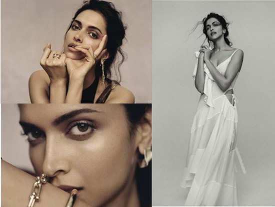 c8795b19e Deepika Padukone looks bold yet beautiful in this photoshoot for Evening  Standard Magazine. The actress looked simple yet stylish.