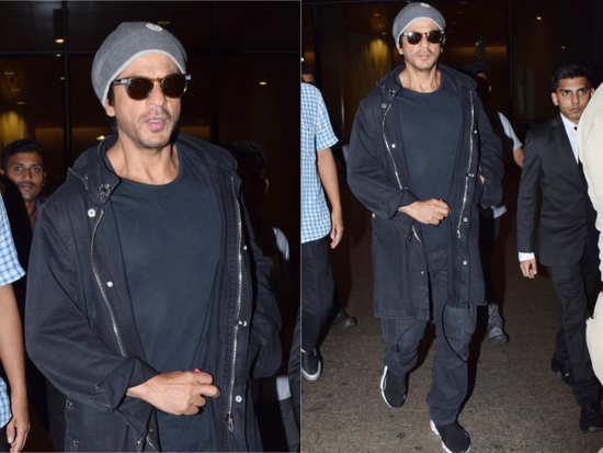 0a712a06373 Shah Rukh Khan was off vacationing with his family in Europe from past two  weeks. The actor constantly kept his fans updated about his whereabouts and  even ...