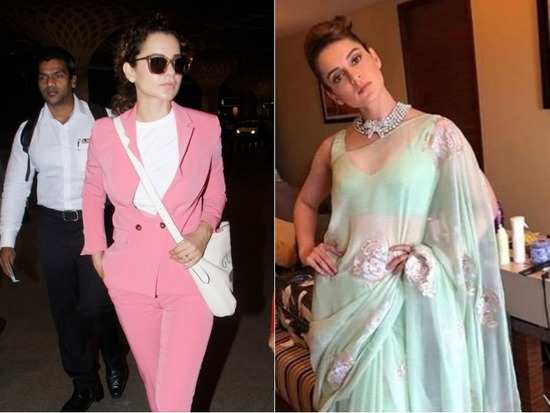 8a7acc2d674 Kangana Ranaut is undoubtedly not just the queen of the Bollywood industry  but of the fashion industry as well. The actress  sartorial choices have  always ...