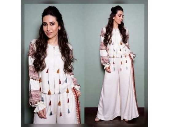 Karisma Kapoor is one actress who has never ceased to impress with her  sartorial choices. No matter what she dons e736617b8