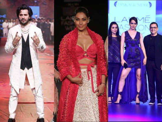 Here s what all happened at the Lakme Fashion Week Day 4 - Misskyra.com 0f9e6bdc8