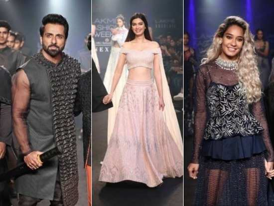 7ea4c5be04308c After a fantastic 4 day show at the Lakme Fashion Week, we were all holding  our breaths for the grand finale. From Kriti Kharbanda to Kareena Kapoor  Khan, ...