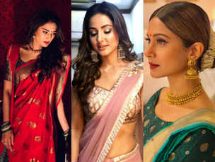 Karva Chauth 2018: Take inspiration from telly-town divas to style your look!