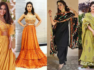 Makar Sankranti 2019 : Looks inspired by Hina Khan, Surbhi Jyoti, Divyanka Tripathi and others