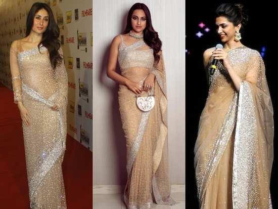 Kareena, Sonakshi and Deepika killing it with the Manish