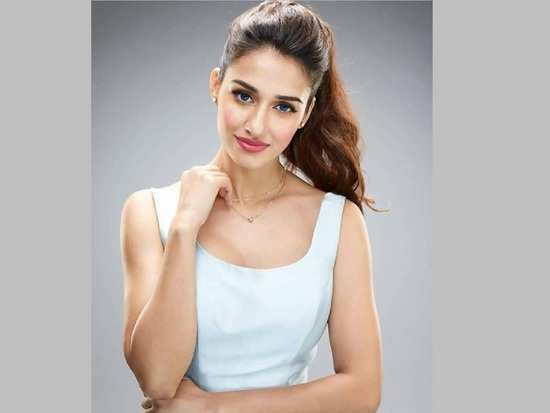 2b7590c28255 Disha Patani with a plunging neckline outfit aces street style chic ...