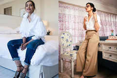 Bollywood beauties teach how to style a basic white shirt